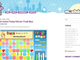 Fruiti Blox Flash Game Friday Winner