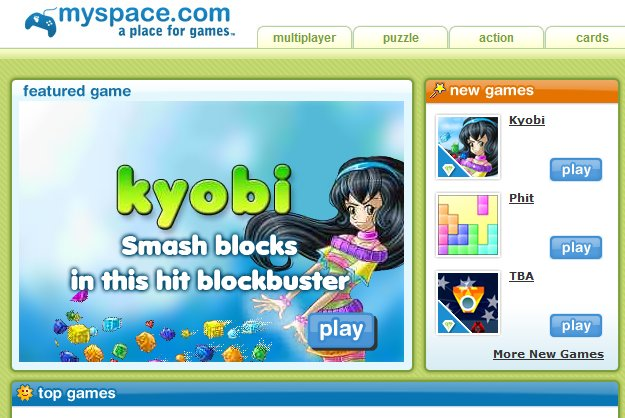 Kyobi on MySpace Games