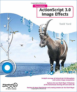 Foundation ActionScript 3.0 Image Effects book cover