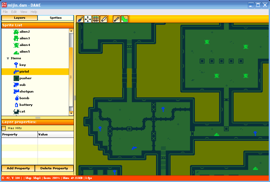 Photon storm blog archive dame great new map editor for flixel you can put down multiple map gumiabroncs Images