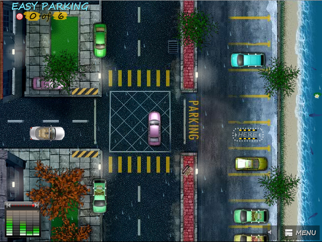 Parking Games Try to Park a Car a Bus or even a Truck