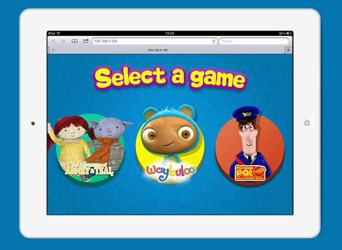 games page